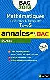 Mathématiques Tle S : Sujets