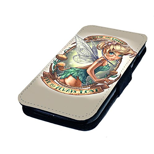 t Tattoo Design. Bedruckte Kunstleder Flip Case Bell Princess Bezug, Kunstleder, iPhone 6 Plus + (Goth Disney Prinzessinnen)