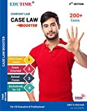 #4: company Law case law booster for cs executive and cs professional By Amit k kochhar
