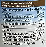 Aceite de coco para cocinar bio, 200 ml
