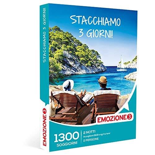 Emozione3 - Stacchiamo 3 Giorni! - 1300 Divertenti Soggiorni In Accoglienti B&B Ed Agriturismi Italiani, Cofanetto Regalo