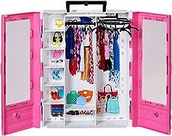 Barbie GBK11 Fashionistas Ultimate Closet Portable Fashion Toy