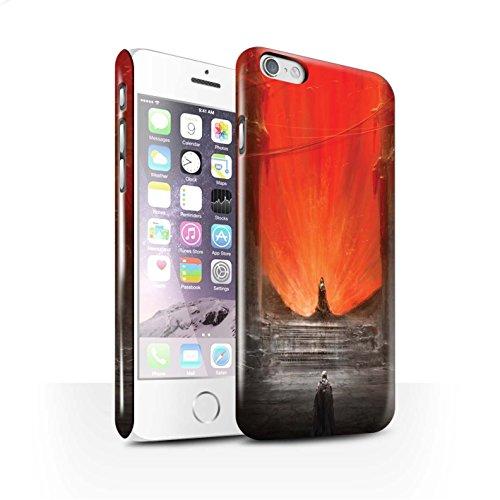 Offiziell Chris Cold Hülle / Glanz Snap-On Case für Apple iPhone 6S / Pack 10pcs Muster / Dunkle Kunst Dämon Kollektion Hohe Königin