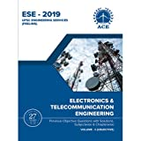 ESE 2019 Prelims Electronics and Telecommunications Engineering Objective Volume 2 : Previous Objective Questions with solutions, Subject wise and Chapter wise