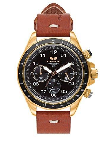 Vestal ZR-2 Makers - Reloj de pulsera (persimmon), color gris, dorado y negro