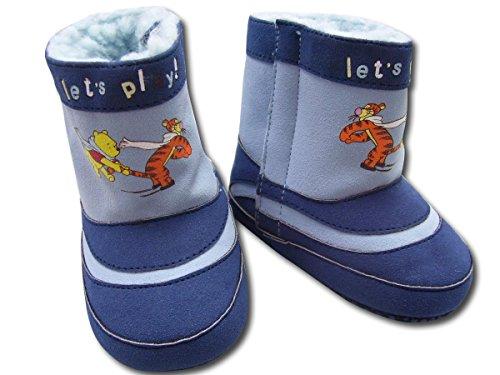 Winter Baby Schuhe. jungen Schuhe mit Disney Motive. Farbe Blau (15-17)