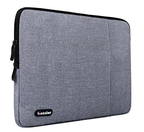 iCozzier-133-14-pulgadas-Funda-de-neopreno-impermeable-bolsa-de-transporte-Laptop-Notebook-Computer-Chromebook-MacBook-MacBook-Pro-MacBook-Air-Ultrabook-Computer-Gris