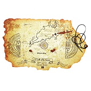 Goonies The Treasure Map