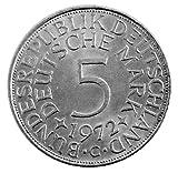 5 DM Silber Adler 1972 Die bundesdeutsche Legende Der Heiermann