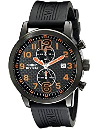 "Invicta Herren-Armbanduhr XL Chronograph Kautschuk ""11244"""