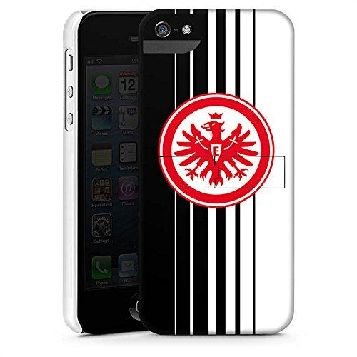 Apple iPhone X Silikon Hülle Case Schutzhülle Eintracht Frankfurt Fanartikel Fußball SGE Premium Case StandUp