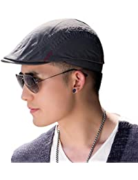 46ea762dd15 Siggi 100% Cotton Mens Flat Caps Gatsby Ivy Irish Hunting Newsboy Hat  57-59CM