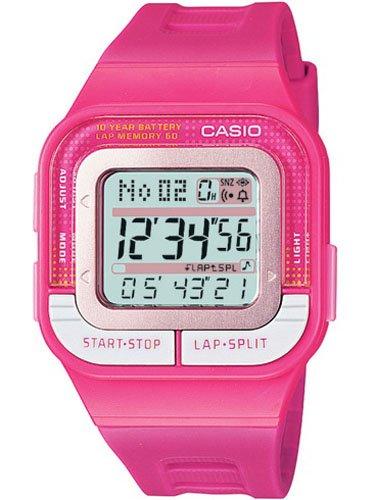 Casio SDB1004A - Reloj de Señora Caucho Fucsia