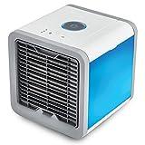Persönlicher Raum Luftkühler, 3 In 1 USB Mini Tragbare Klimaanlage, Luftbefeuchter, Luftreiniger Und 7 Farben Nachttisch, Desktop-Lüfter Für Office Home Outdoor Travel