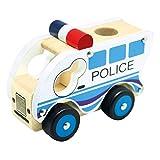 BINO 84082 - Holzauto, Polizei