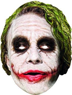 Maske, Kostüm, Einheitsgröße (Rubie's Spain 36671) (Joker-halloween-maske)
