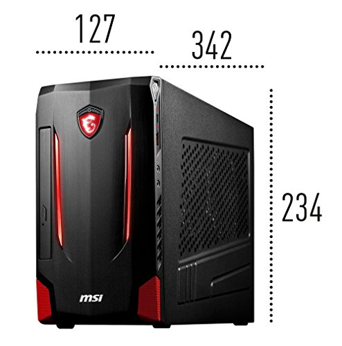 MSI Nightblade MI2 Gaming-PC (Intel Core i5-6400, GeForce GTX 960, 8GB RAM, 1TB HDD, DVD, Windows 10 Home)