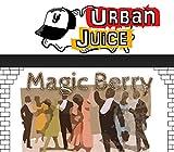 Urban Juice 10ml E-Liquid Magic Berry Nikotingehalt 0 mg/ml Fruchtmix Trauben Beeren Mentholnote.