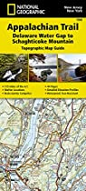 Appalachian Trail, Delaware Water Gap to Schaghticoke Mountain, New Jersey, New York (National Geographic Trails Illustrated Map)