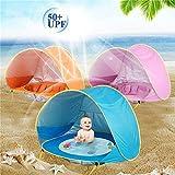 NO BRAND FYTVHVB Carpa Océano Piscina de Sol al Aire Libre Piscina de Pelotas de Playa Casa de Juguete Carpa para bebés