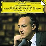 Beethoven: Piano Sonatas, The Tempest, Waldstein, Les Adieux