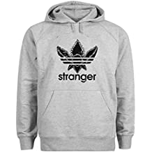 Friendly Bees Stranger Things Eleven Serial Artwork Gris Sudadera con  Capucha Unisex Small d380712dc33bd