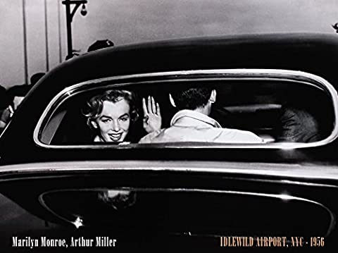 Corbis / Bettmann Poster Kunstdruck Bild Marilyn Monroe & Arthur Miller - Idlewild Airport, NYC 1956