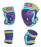 Disney Bambini gomito Knee Skate Protectors Frozen Sports, Multicolore, S