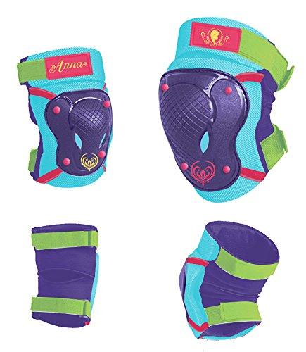 Disney Kinder Elbow Knee Skate Protectors Frozen Sports, Mehrfarbig, S