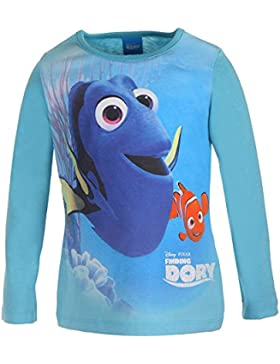 Disney Mädchen Langarmshirt Findet Dorie Nemo 2 99277