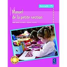 Manuel de la petite section (+ CD-Rom)