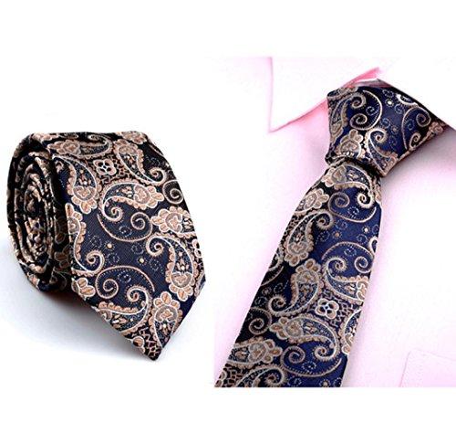 STRIR Corbata para Hombre Multicolores Moda Clasica (N)