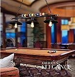 Flying little witch chandelier Loft industriellen Wind Pool-Bar amerikanischen Vintage-Bekleidungsgeschäft Restaurant Kronleuchter Kronleuchter kreative Persönlichkeit mit