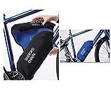 BikersOwn Rahmen-Akkuschutz für Bosch Powerpack 300/400 schwarz/blau 2018 Teileschutz