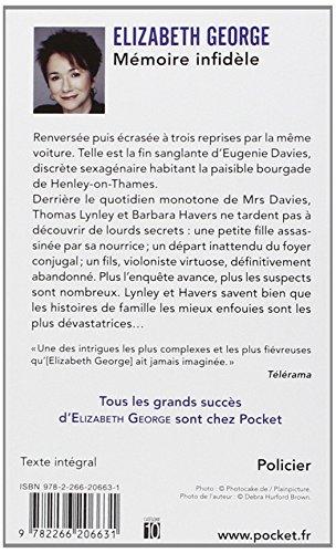 Book's Cover ofMémoire infidèle