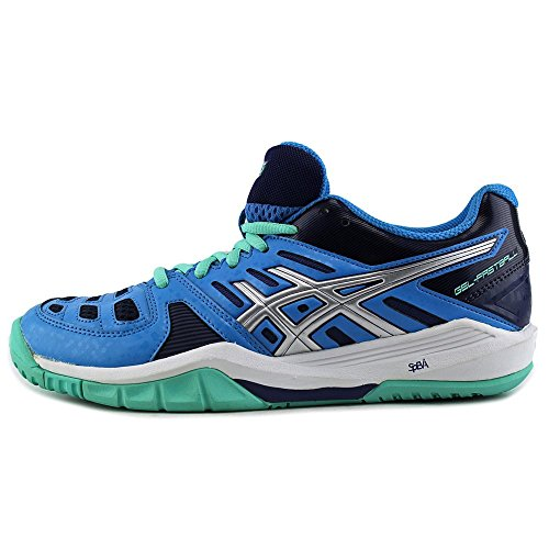 Asics GEL-FASTBALL Synthétique Chaussure de Course Turquoise-Silver-Aqua Mint