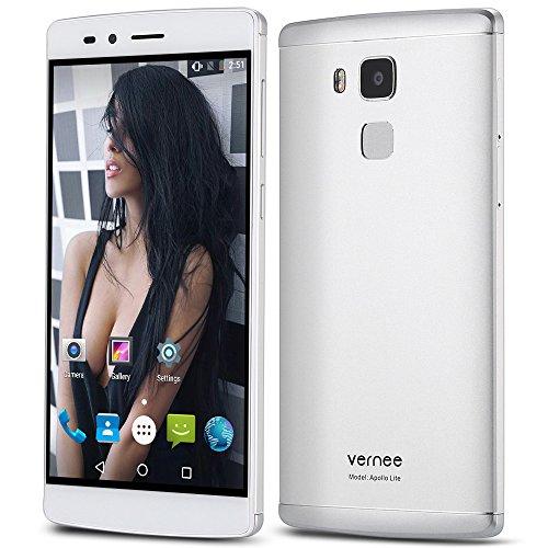 Vernee Apollo Lite Android 6.04G, phablet 5,5pulgadas, pantalla curva, MTK6797diez núcleos, 4GB RAM, 32GB ROM, cámara principal de 16MP tipo C huellas dactilares, Corning Gorilla 3