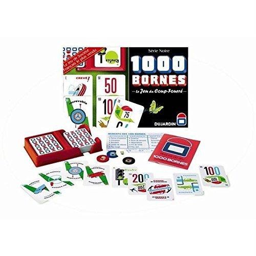Dujardin Board Game 1000 Bornes Série Noire