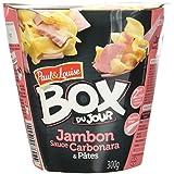 Paul & Louise Box du Jour Jambon Sauce Carbonara et Pâtes 300 g -