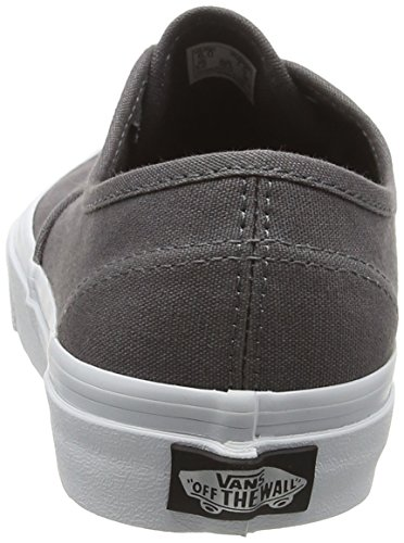 Vans Authentic, Baskets Basses Mixte Adulte Gris (Multi Eyelets perf/gray)