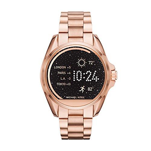 Michael Kors Access Touch Screen Rose Gold Bradshaw Smartwatch MKT5004