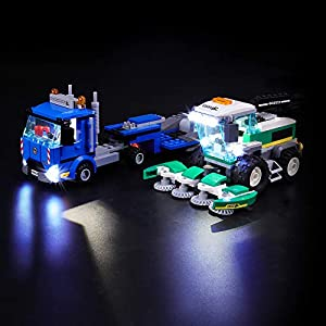 LIGHTAILING Set di Luci per (City Trasportatore di Mietitrebbia) Modello da Costruire - Kit Luce LED Compatibile con… 0716852279876 LEGO