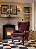 Stirling Tartan High Back Chair Orthopedic Fireside Arm Chair - 20