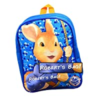 Personalised Peter Rabbit Backpack for Kids/Back to School/Children Boys Rucksack Girls/Name/Durable/Toddler/31 x 25 x 9 Centimetre