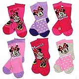 Die besten Disney Mädchen Socken - 6er Pack Disney Minnie Maus Socken (27/30) Bewertungen