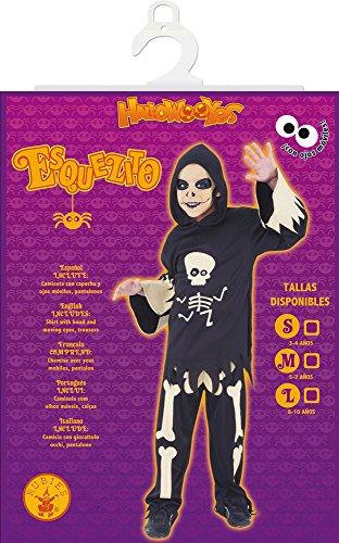 Imagen de rubie's  disfraz esqueleto con ojos móviles, m s8372 m  alternativa