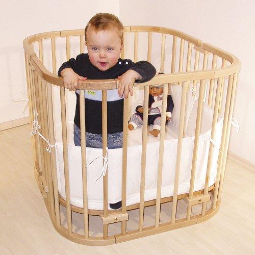 babybay Maxi Beistellbett, weiß lackiert