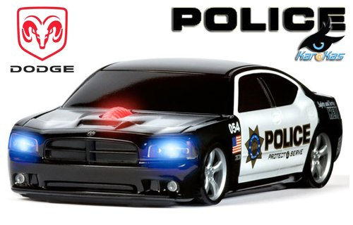 dodge-charger-police-24-ghz-funk-maus-wireless-road-mice-auto-maus-lizens-produkt