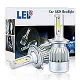H1/H3/H4/H7/H11/9005/9006LED lampadine, A672W 7600LM 6000K IP68kit di conversione LED a luce bianca fredda, 2confezione–1anno di garanzia