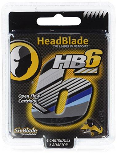 headblade-cuchillas-de-rasurado-4-piezas-6x-cuchillas